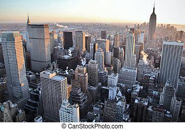 nowy york skyline