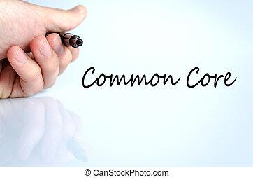 noyau, concept, commun, texte