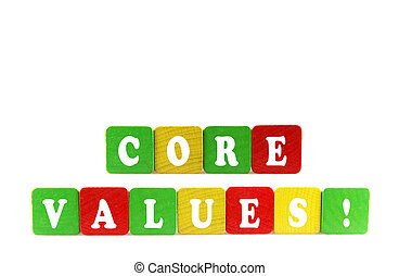 noyau, concept, valeurs