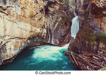 np, kanyon, banff