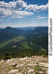 np, montagna, viaggiare, vacanza, roccioso