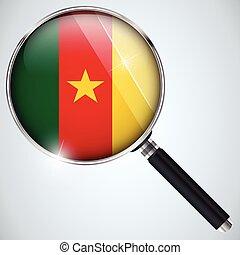 nsa, 美國政府, 間諜, 計划, 國家, 喀麥隆