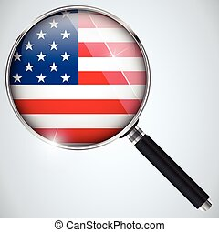 nsa, 美國政府, 間諜, 計划, 國家, 美國