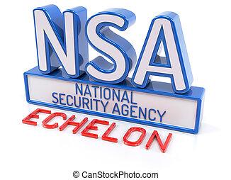 NSA ECHELON - National Security Agency