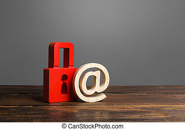 nsfw., conservation, intimité, protection, virus, sécurité, users., personnel, rouges, information, insurance., attack., données, antivirus, values., email, cadenas, secrets, symbole., hacher
