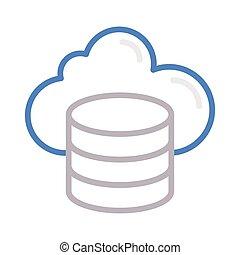 nuage, base données