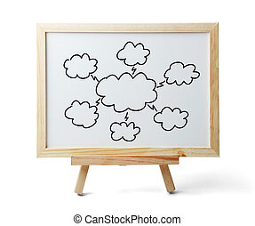 nuage, calculer, diagramme