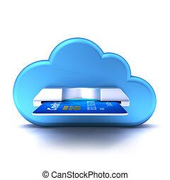 nuage, carte