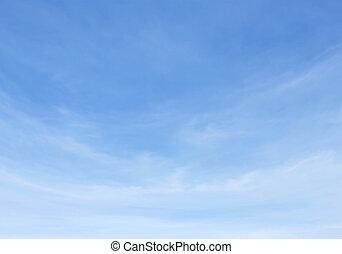 nuage ciel bleu, fond, textured