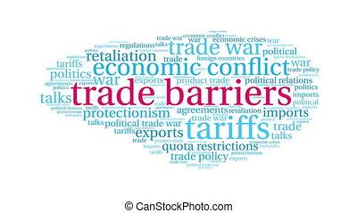 nuage, commercer, mot, barrières