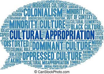 nuage, culturel, appropriation, mot