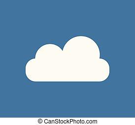 nuage, icône