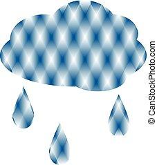 nuage, pluie