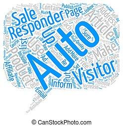 nuage, reponders, texte, fond, créatif, profitable, directions, usage, concept, mot, auto