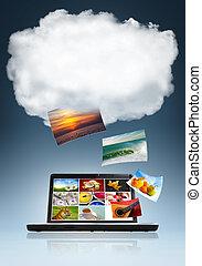 nuage, technologie