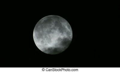 nuages, 02, pleine lune
