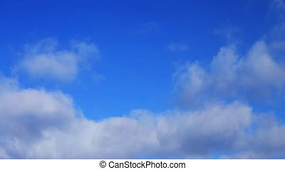 nuages, 04, timelapse, 1, boucle, minute