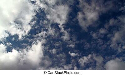 nuages, chevaucher, hd