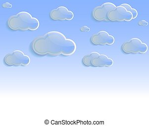 nuages, ciel