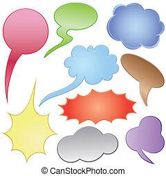 nuages, dialogue