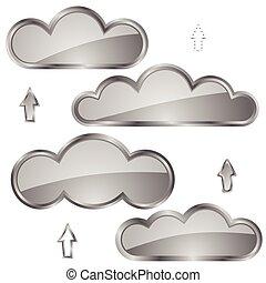 nuages, icônes