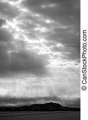 nuages, orage