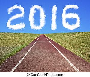 nuages, piste, forme, courant, année, 2016