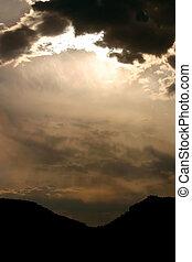 nuages tempête