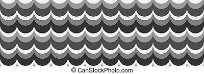 nuances, ondulé, gray., fond