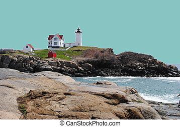 Nubble Lighthouse Cape Neddick ME