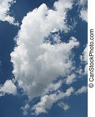 nube cielo