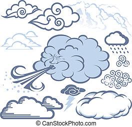 nube, colección