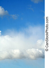 nube de cielo, plano de fondo