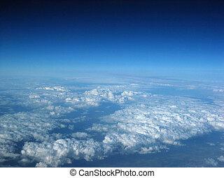 nube, formaciones, 2