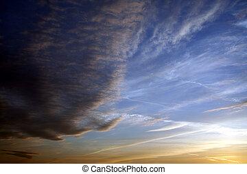 nube, plano de fondo