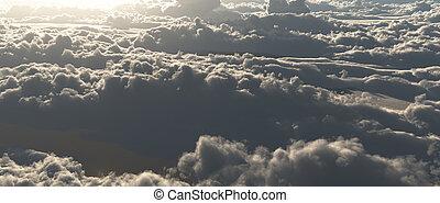 nube, scape