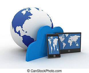 nube, tecnología