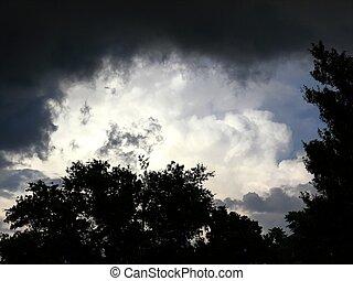 nubes de la tormenta