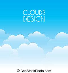 nubes, diseño