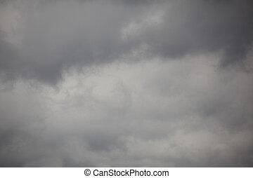 nubes, lluvia