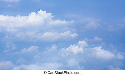 nubi, orizzonte