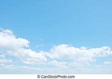 nubi, su, cielo
