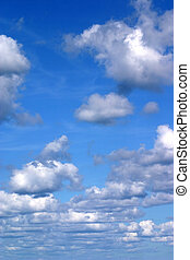 nubi, verticale