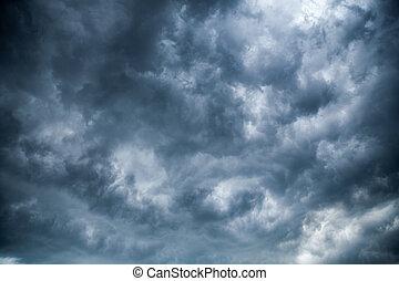 nublado, clouds.