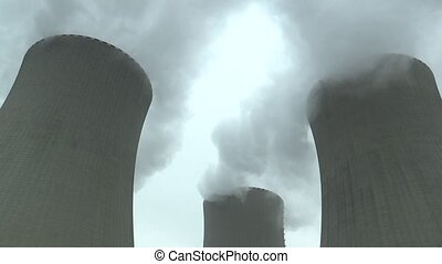 nucléaire, station, puissance, temelin
