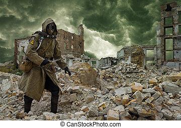 nucléaire, survivant, apocalypse