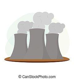 nucleaer, industria de la energía