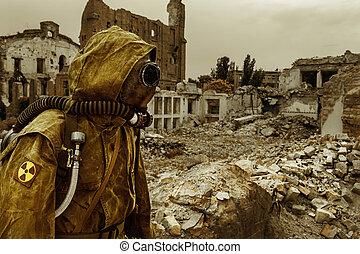 Nuclear apocalypse survivor - Post apocalypse. Sole survivor...