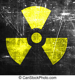 Nuclear danger background
