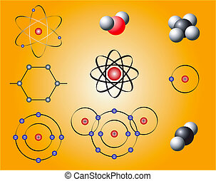 Nuclear Elements - Nuclear elements and molecules on a...